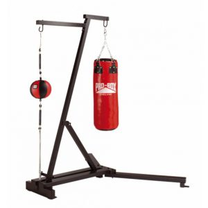 Pro-Box Free Standing Punch Bag Frame with Floor/Ceiling Ball & Punch Bag