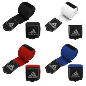 adidas Boxing 2.5m Hand Wraps – [Black, Blue, White or Red]