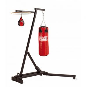 Pro-Box Free Standing Punch Bag Frame with Speedball Set & Bag