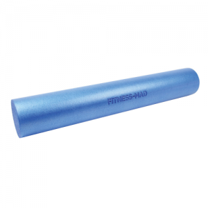 Fitness Mad 90cm Foam Roller – Blue