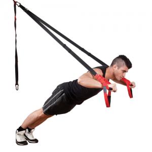Fitness-Mad Pro Suspension Trainer – Black/Red