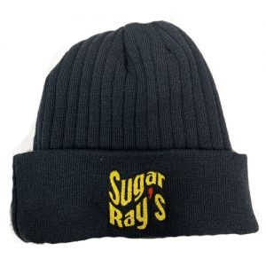 Sugar Ray's Premium Fold Over Boxing Wooly Hat/Beanie – Navy