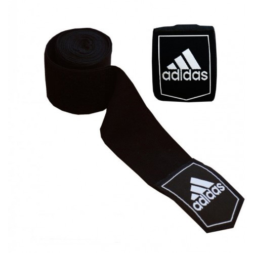 Adidas ABA Approved Boxing Hand Wraps 4.5m – Black [Pack of 10]