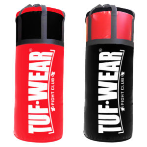 Tuf Wear 4FT Jumbo Punchbag – Red/Black
