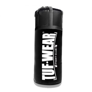 Tuf-Wear 4FT Jumbo Punchbag – Black with Heavy Duty Straps