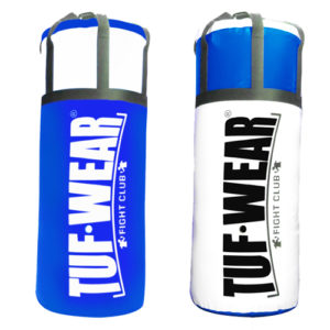 Tuf Wear 4FT Jumbo Punchbag – Blue/White