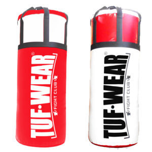Tuf Wear 4FT Jumbo Punchbag – Red/White
