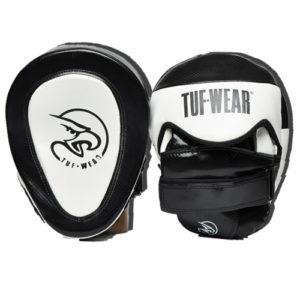 Tuf Wear Eagle Gel Curved Hook & Jab Pad – Black/White