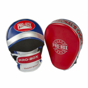 Pro-Box Champ Focus Pads – Red/Blue
