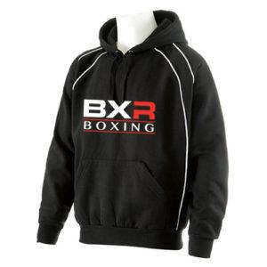 BXR Club Boxing Hoody – Black/White