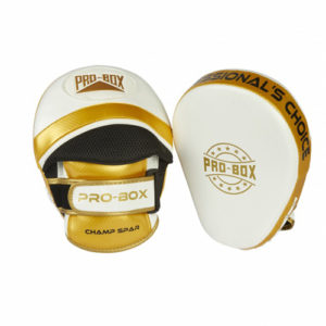 Pro-Box Champ Focus Pads – White/Gold