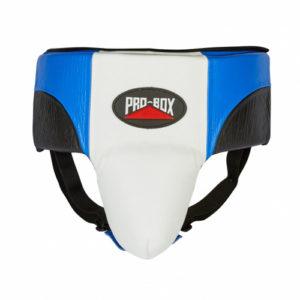 Pro-Box Pro-Spar Abdo Guard – Blue/White/Black