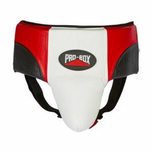 Pro-Box Pro-Spar Abdo Guard – Red/White/Black