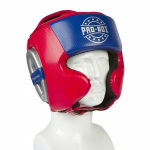 Pro-Box Champ Spar Headguard – Red/Blue