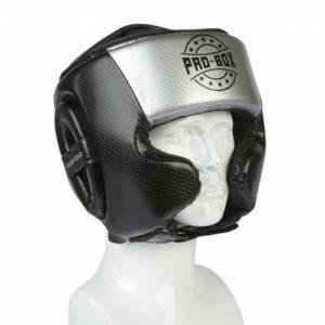 Pro-Box Champ Spar Headguard – Black/Silver