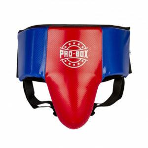 Pro-Box Champ Spar Abdo Guard – Blue/Red