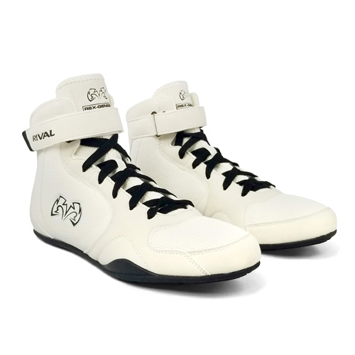 Rival RSX-Genesis Lo-Top Boxing Boot – White/Black