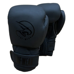 Tuf-Wear Creed Matte Leather Training Glove – Black/Black
