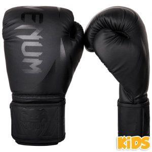 Venum Challenger 2.0 Kids Boxing Gloves – Black/Black