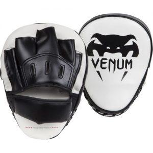 Venum Light Focus Mitts – White/Black