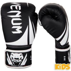 Venum Challenger 2.0 Kids Boxing Gloves – Black/White