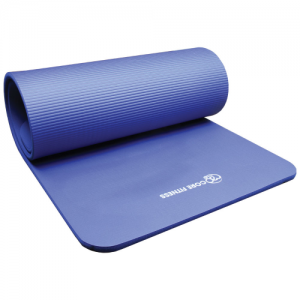 Fitness-Mad Core Fitness Plus Blue Mat – 10mm or 15mm