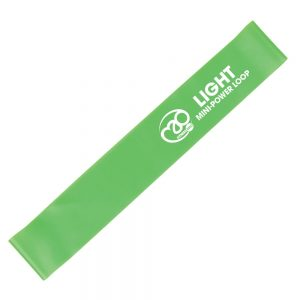 Fitness-Mad Mini Power Loop/Resistance Band – Light (Green)