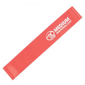 Fitness-Mad Mini Power Loop/Resistance Band – Medium (Red)