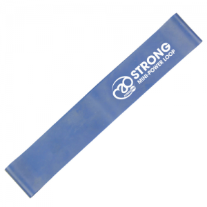 Fitness-Mad Mini Power Loop/Resistance Band – Strong (Blue)