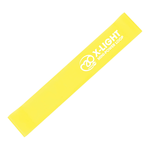 Fitness-Mad Mini Power Loop/Resistance Band – Extra Light (Yellow)