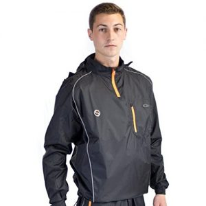 Swelter Men's Premier MKII Sweat Suit – Black/Orange