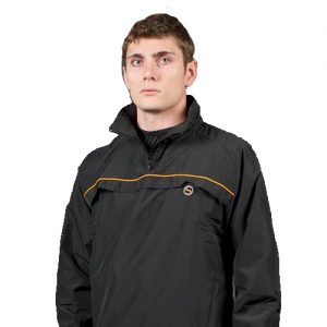 Swelter Men's Classic Premier Sweat Suit – Black/Orange