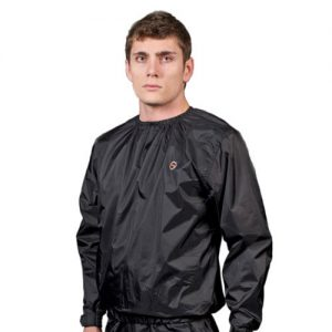 Swelter Original Sweat Suit – Black/Orange