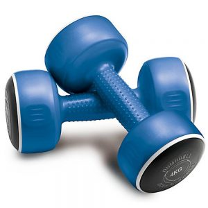 Body Sculpture Smart Dumbbell Set – Pair of 4kg / Blue