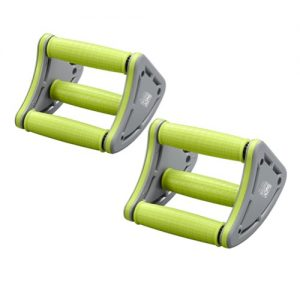 Body Sculpture 3 in 1 Core Push Up Rollers – Green/Grey