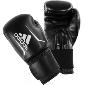 Adidas Speed 50 Boxing Gloves – Black/White