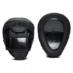 Tuf-Wear Atom Curved Gel Hook and Jab Pad – Black/Black