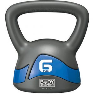 Body Sculpture 6kg Kettle Bell – Grey/Blue