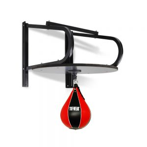 Carta Sports Speedball Platform + Tufwear Leather Ball – Red/Black
