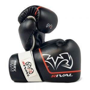 Rival High Performance RS1 [2.0] Lace-Up Pro Sparring Gloves – Black