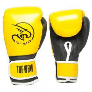 Tuf-Wear Victor Junior Training Gloves – Yellow/Black