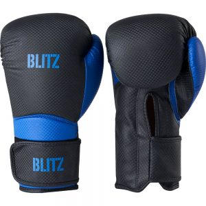Blitz Centurion Boxing Gloves – Black/Blue