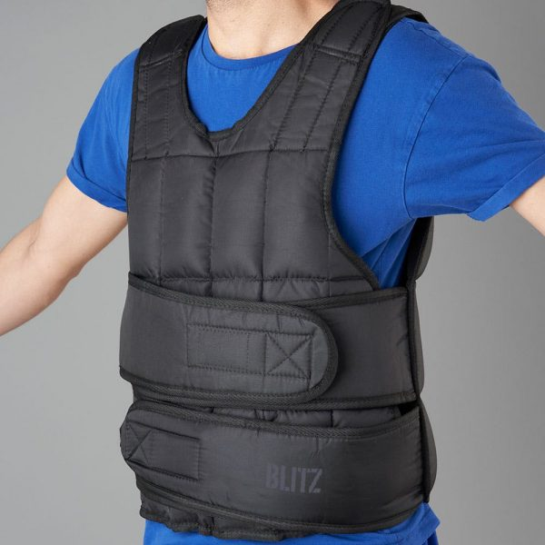Blitz Weighted Vest – Black