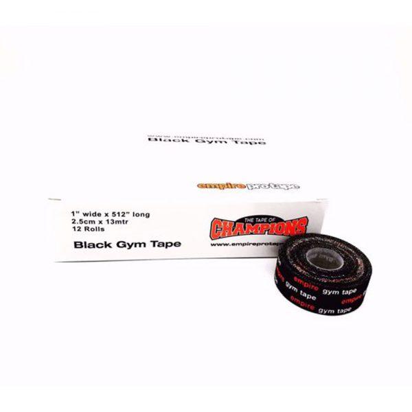 Empire Boxing Pro Tape Box of 12 – Black / 2.5cm x 13mtr