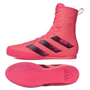 Adidas Box Hog 3 Boxing Boots – Pink