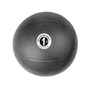 Fitness-Mad PVC Medicine Ball – 1kg / Black