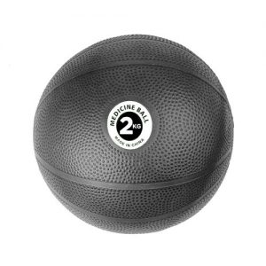 Fitness-Mad PVC Medicine Ball – 2kg / Black