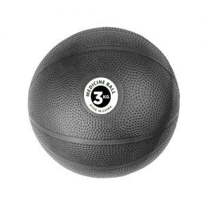Fitness-Mad PVC Medicine Ball – 3kg / Black