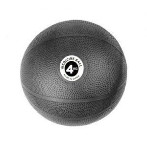 Fitness-Mad PVC Medicine Ball – 4kg / Black