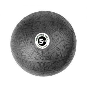 Fitness-Mad PVC Medicine Ball – 5kg / Black